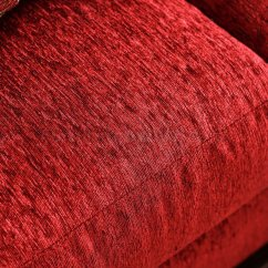 Chenille Sofa Beds Modern Convertible Sleeper Corinna Sm6209 In Ruby Red Fabric W/options