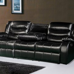 Deacon Leather Power Reclining Sofa Reviews Bed Set Designs Gramercy 644 Motion In Black Bonded W Options