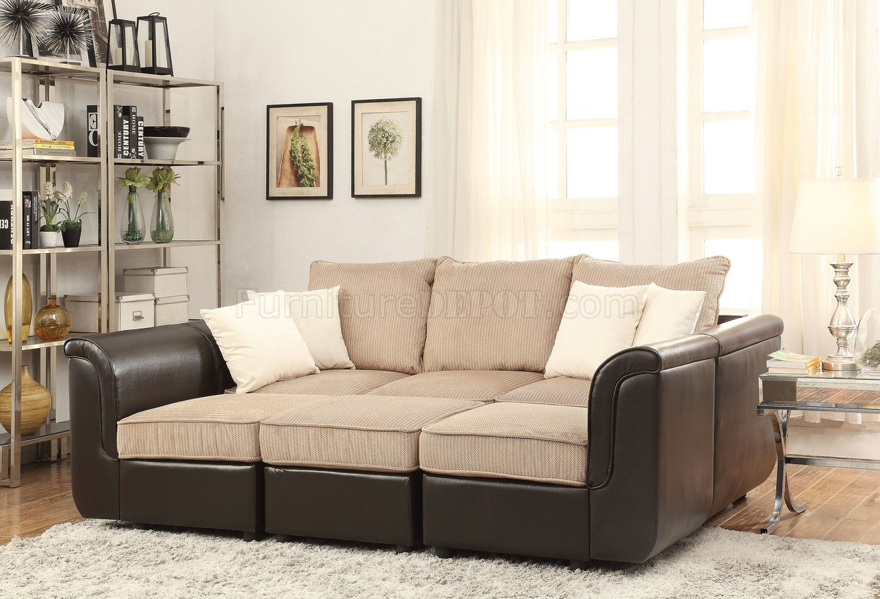 sectional sofas light brown small rounded sofa caisy 52245 in velvet and pu
