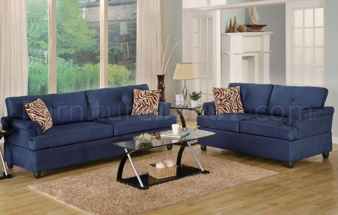 contemporary sofas and loveseats wooden sofa arm covers navy microfiber plush loveseat set
