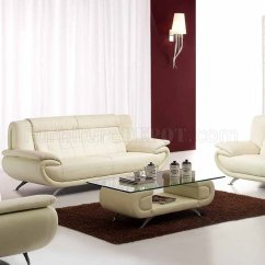 Modern Bonded Leather Sectional Sofa With Recliners Gold Crushed Velvet Sofas Scarlet In Ivory Match W/optional Items