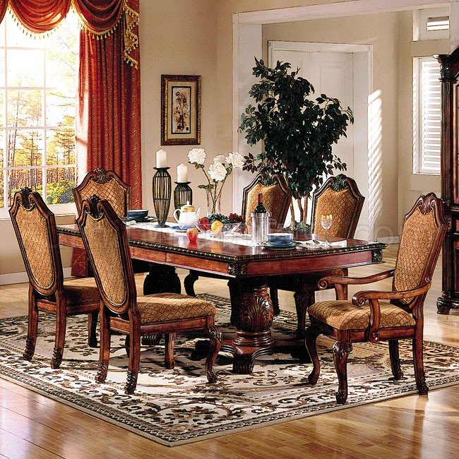 Chateau De Ville Dining Table Cherry By ACME