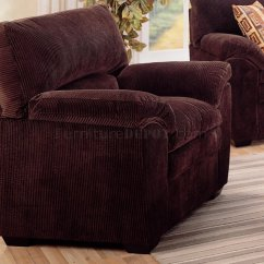 Corduroy Fabric Sofa Set In Walmart Modern Living Room 502521 Dark Chocolate