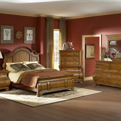 Lexington Sectional Sofa What Cleans Microfiber Warm Brown Finish Traditional Style Bedroom W/optional Items