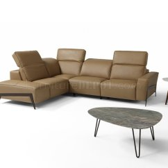 J M Paquet Sofa Harga Set L Shape Ocean Power Reclining Sectional In Miele Leather By Andm