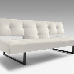 White And Black Sofa Bed Wolves Reading Sofascore Or Leatherette Modern Convertible