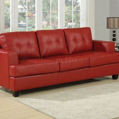Leather Sectional Sleeper Sofa Queen Green Velvet Tufted Red Bonded Modern W Size