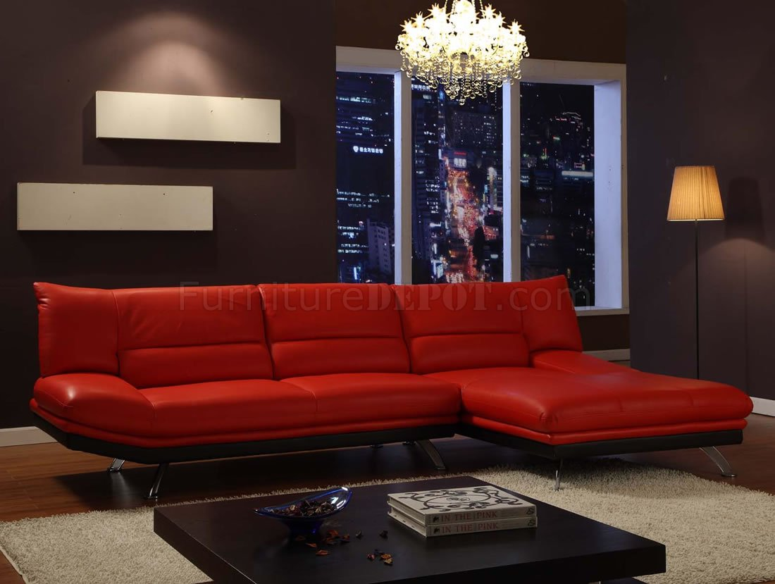 black and red leather sofa funda para chaise longue baratos or mocha sectional with metal legs