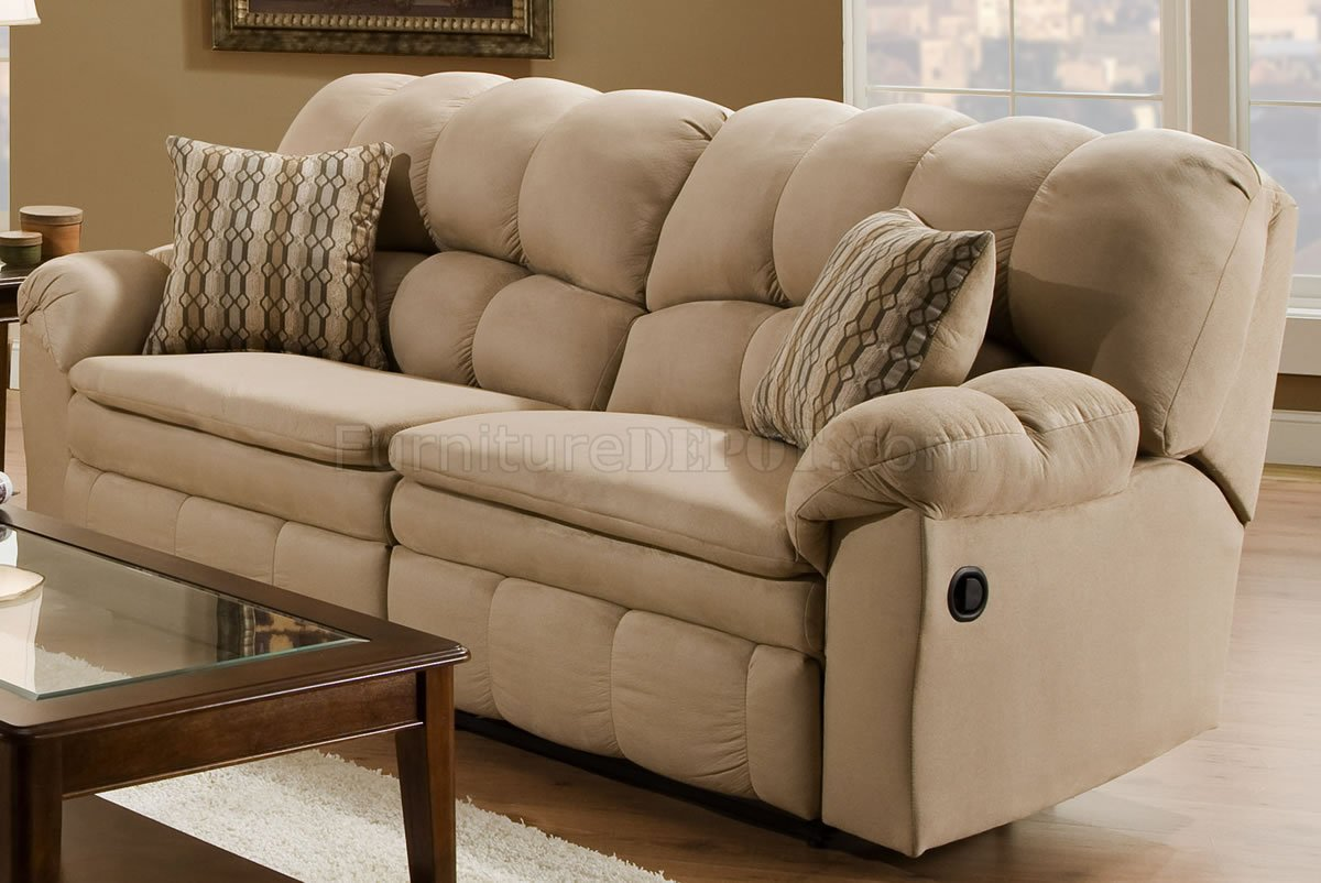microfiber sofa and loveseat recliner air sleep couch reclining rondo modern brown living room