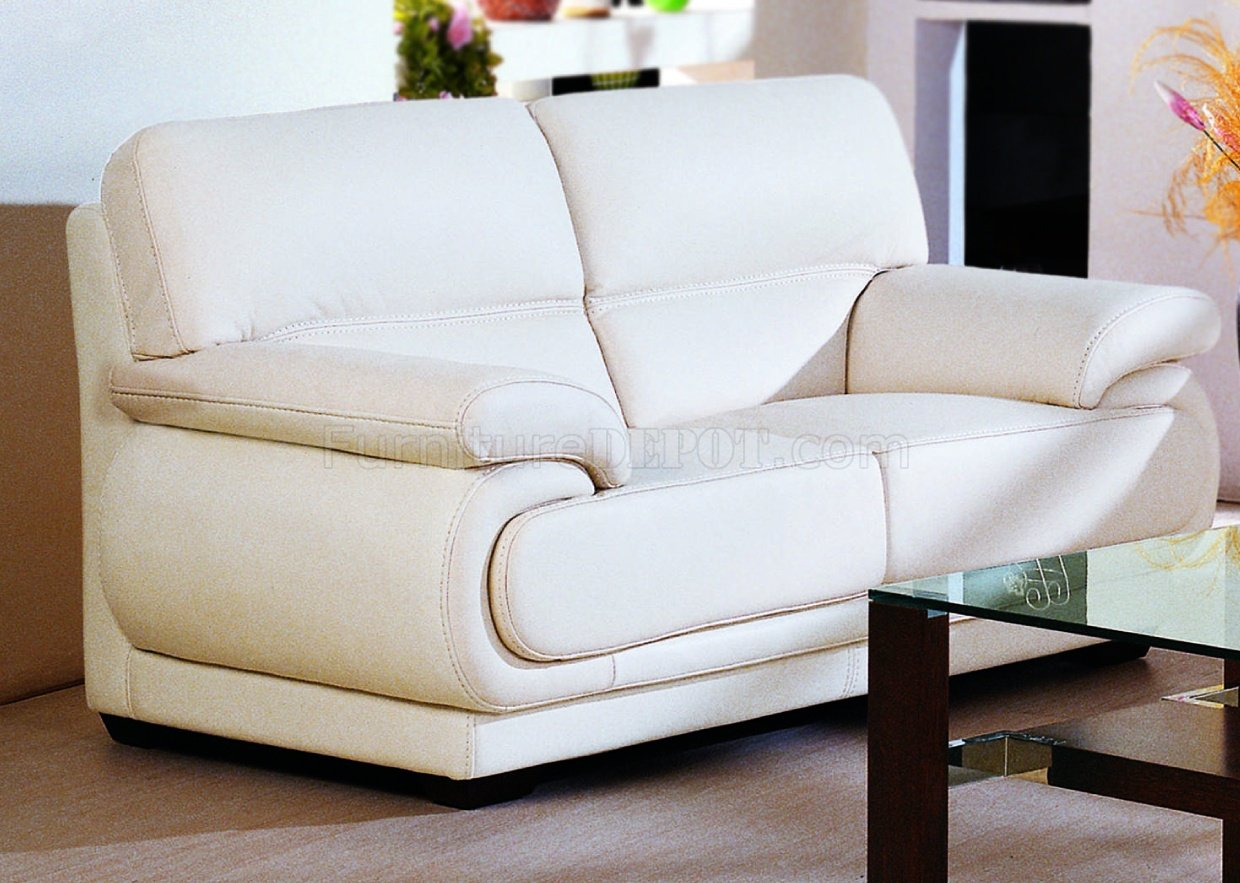 well full leather beige sofa set ottoman sater review modern living room w options