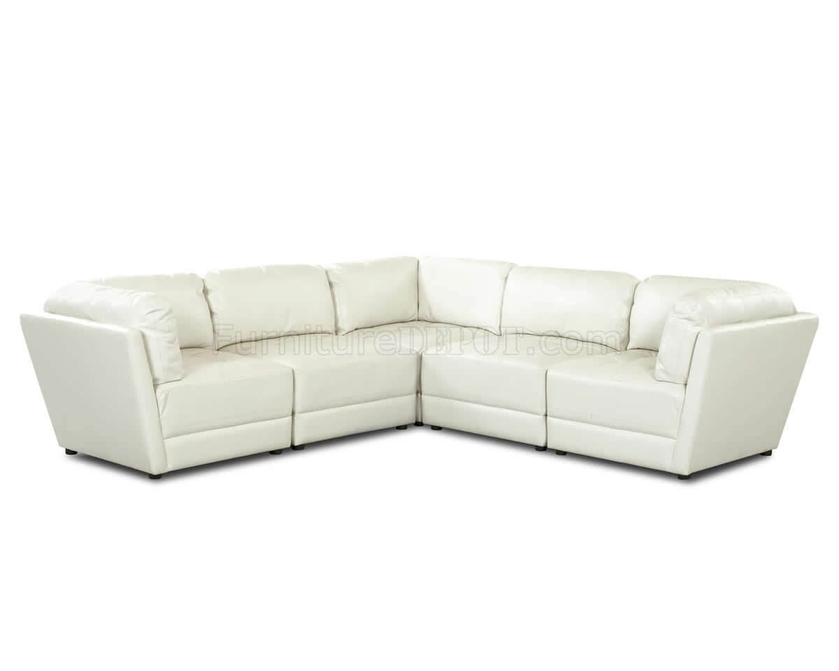white tufted leather sofa project bristol jobs bonded stylish sectional w seats