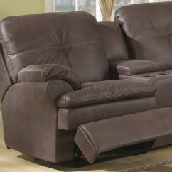 Fabric Sectional Sofa With Recliner Nice Beds Uk Brown Upgraded Modern Reclining