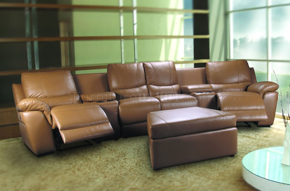 home theater leather sofa covers malaysia beige leatherette sectional w motorized recliners