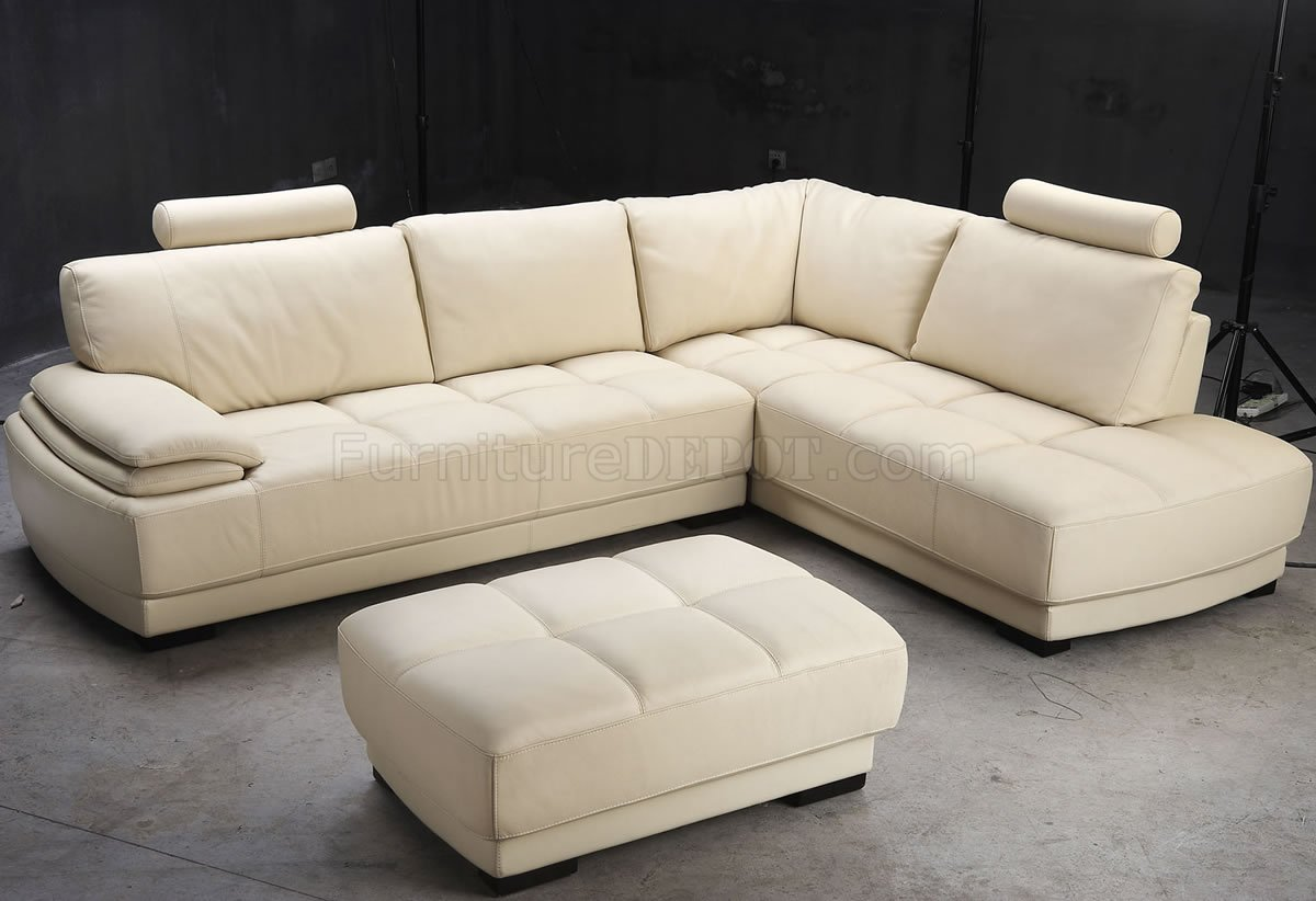 well full leather beige sofa set ottoman armless 2 seater uk modern elegant sectional w