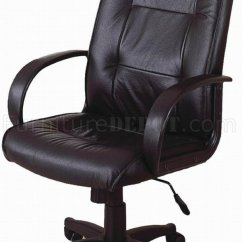 Office Depot Executive Chair Desk Light Blue Black Leather Modern W/gas Lift