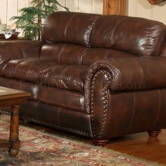 Leather Italia Sofa Furniture Charcoal Gray Sectional Aspen Brown Loveseat Set W Options