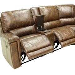 Motion Sofas Best Budget Sofa Beds Hazelnut Full Leather 6pc Modern Reclining