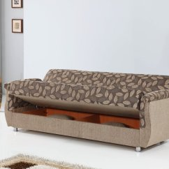 Chestnut Colored Leather Sofa Parker Knoll Bed In Two Tone Fabric By Empire W Options