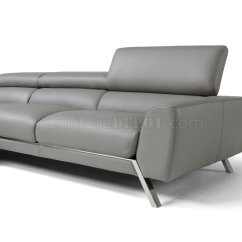 J M Paquet Sofa Where To Buy A Quality Mood Power Reclining Sectional In Grey Leather By Andm