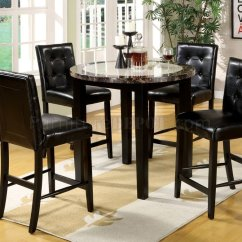Atlas Tables And Chairs Wheelchair Glider Cm3188pt 40 Iv 5pc Counter Height Dinette Set