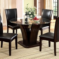 Cherry Wood Table And Chairs Desk Chair Teal Cm3710rt Dining In Dark W Optional Black