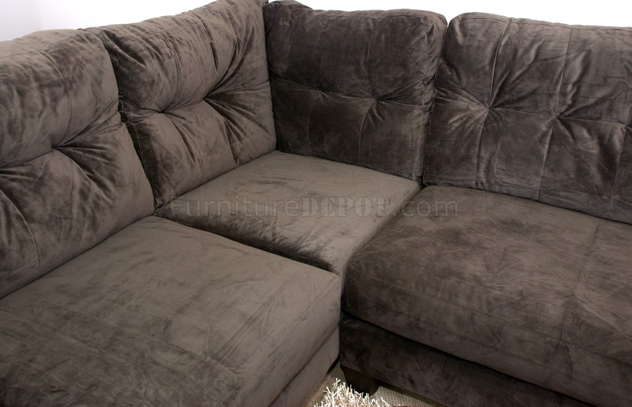 suede sofa fabric modular leather brown 3 seater and matching armchair
