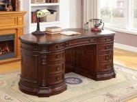 Roosevelt CM-DK6252OD Oval Office Desk in Cherry w/Options