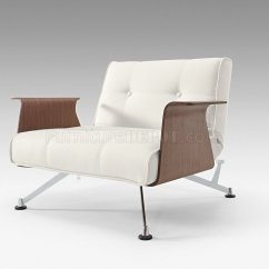 White Club Chairs French Dining Melbourne Leatherette Modern Chair W Walnut Arms