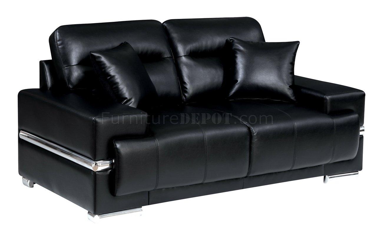 leatherette sofa durability contemporary reclining sofas zibak cm6411bk in black w options