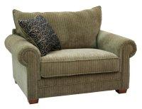 Multi-Tone Chenille Fabric Modern Sofa & Loveseat Set w ...