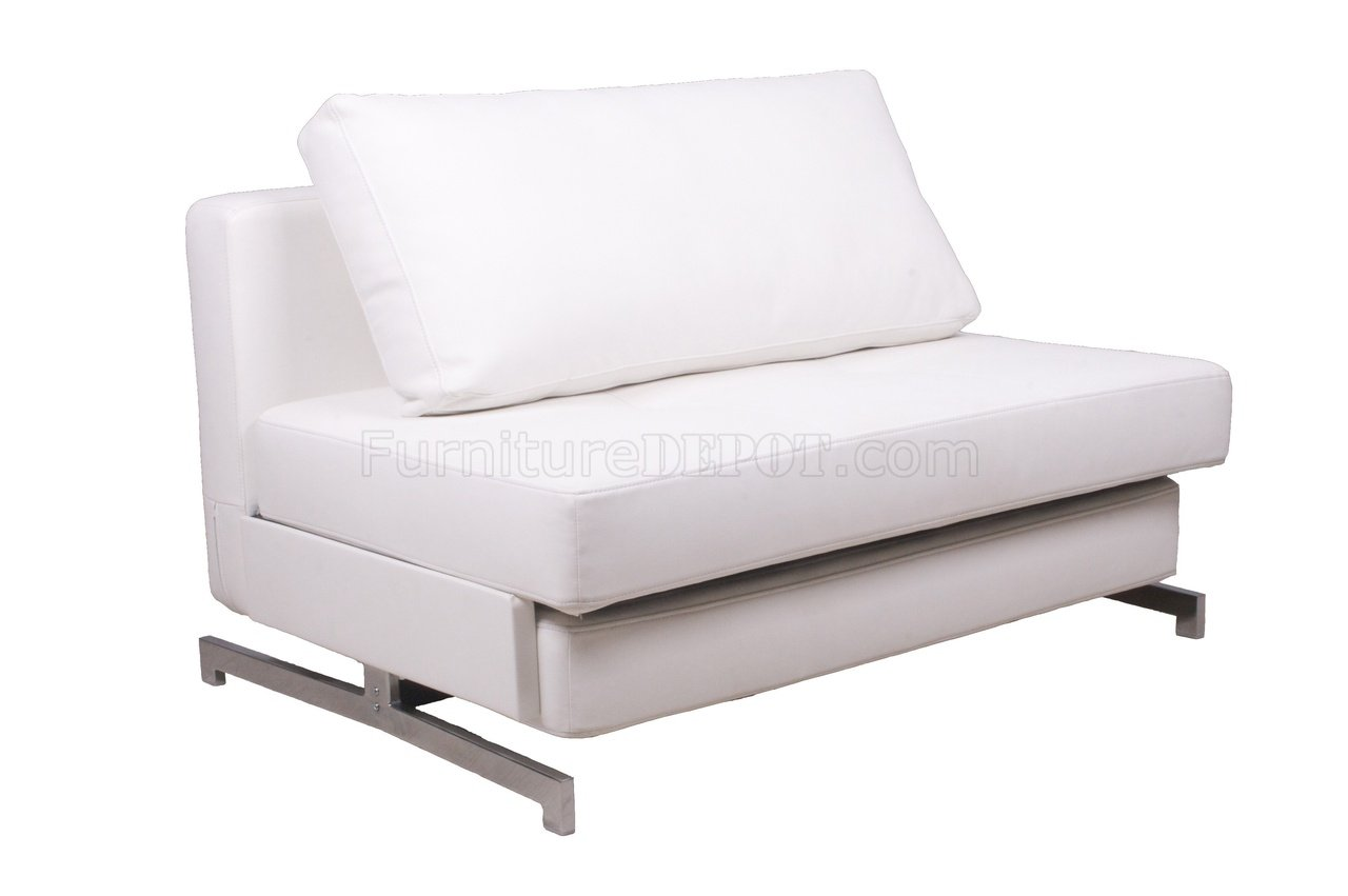 leatherette sofa brown sofas decorating ideas k43 1 bed in white by j andm furniture