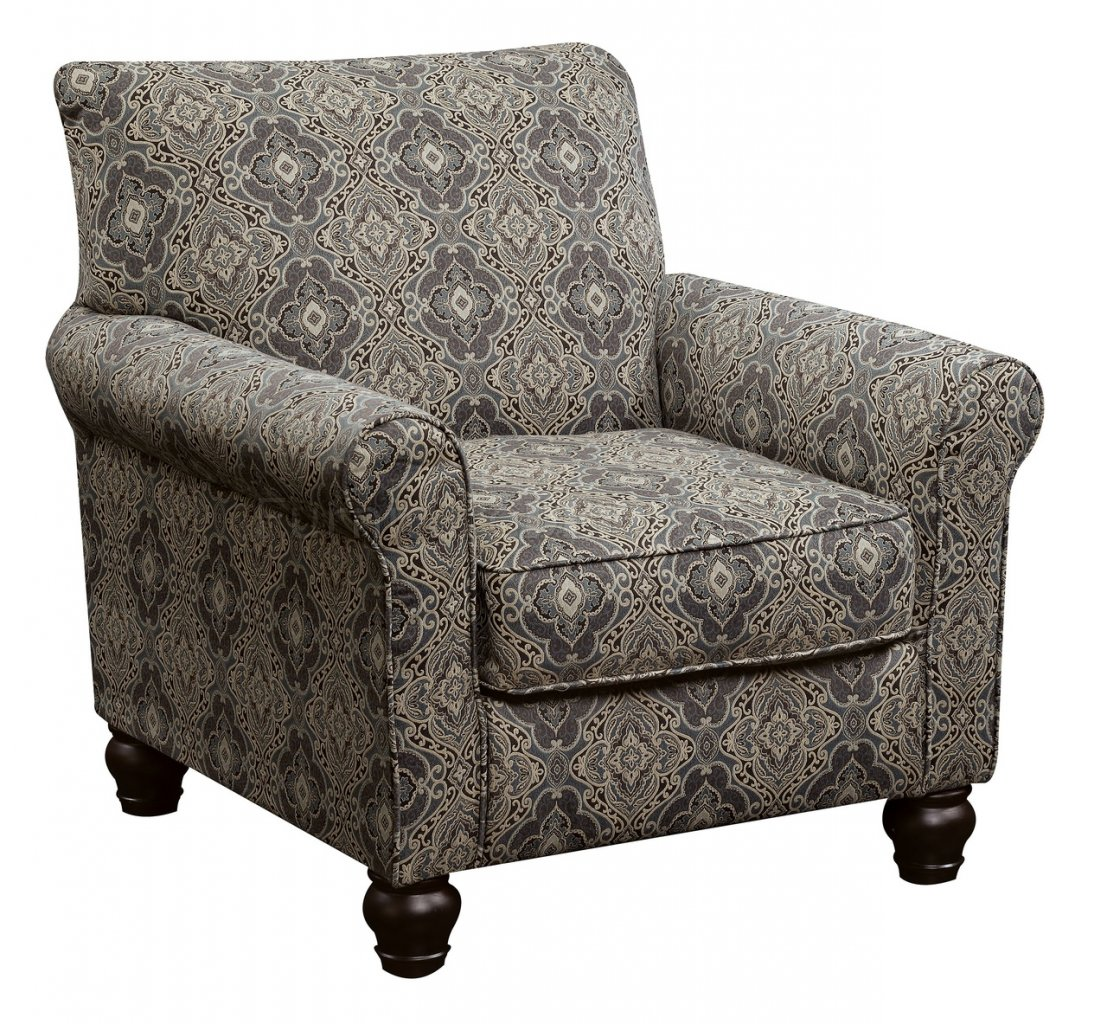 damask accent chair target com chairs clea cm6139a in pattern fabric