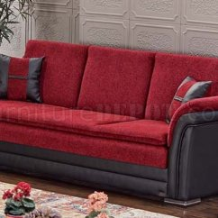 Empire Furniture Sofa Pallet Table Tutorial Austin Bed Convertible In Red Black By W Options