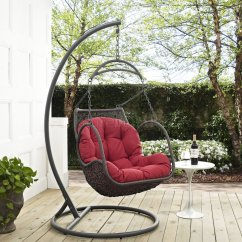 Outdoor Swing Chair With Stand Kitchen Tables And Chairs Sets Arbor Patio Wood By Modway Choice Of Color