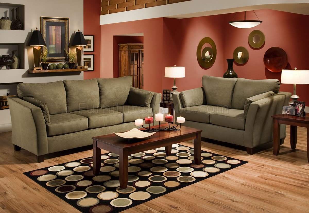 Leather Couch And Loveseat Set