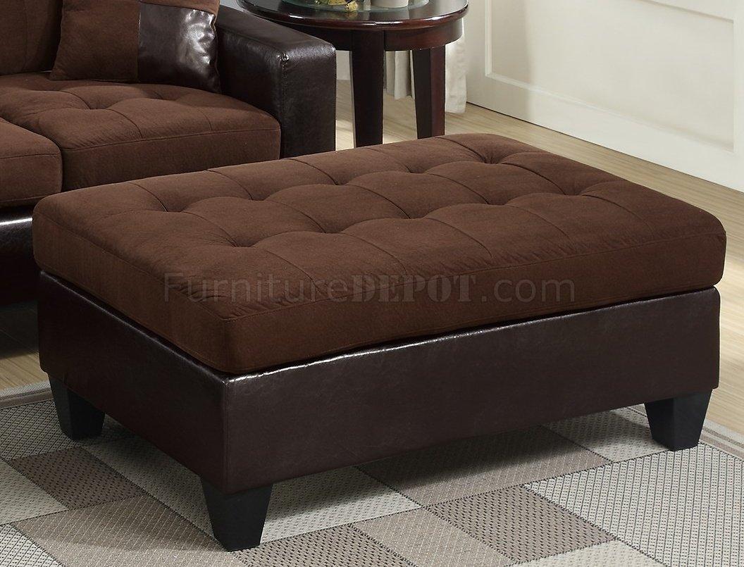 sectional sofas microfiber fabric sleeper sofa f6928 in chocolate by boss