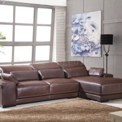 Sectional Sofas Light Brown Flip Sofa Bed With Sleeping Bag Full Genuine Italian Leather Modern