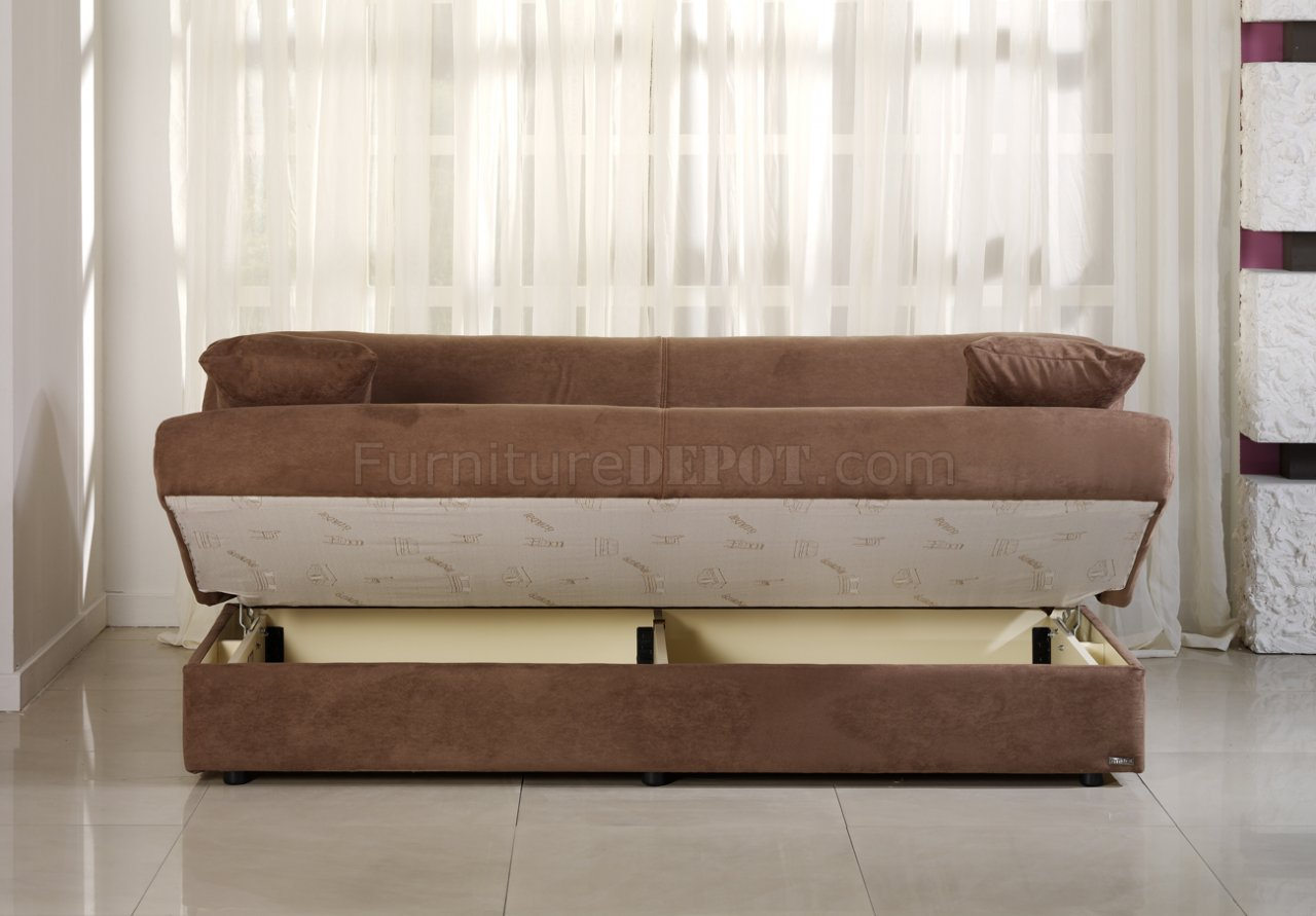 delta storage sofa bed where to get cover in singapore microfiber sleeper gray sofas