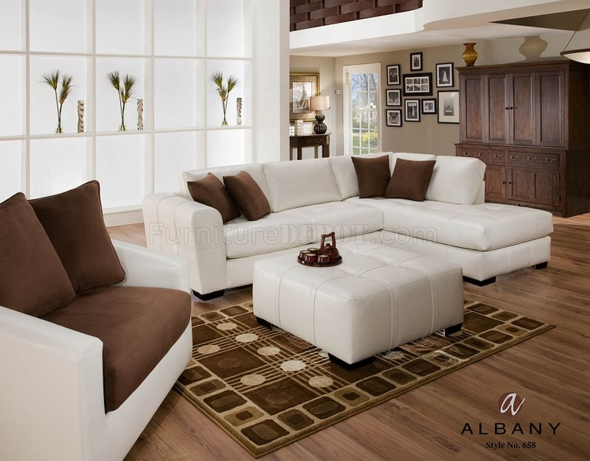 cheap sectional sofas phoenix eco friendly toronto naples white leatherette modern sofa w optional