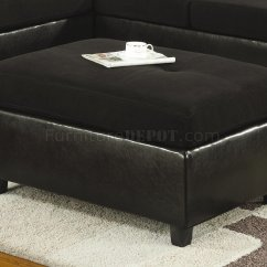 Black Microfiber Sofa Set Beds Online Australia And Faux Leather Contemporary Sectional
