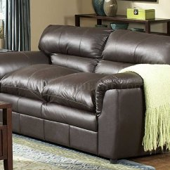 Transitional Style Sectional Sofas Babies R Us Sofa Bed Dark Brown Full Leather And Loveseat Set
