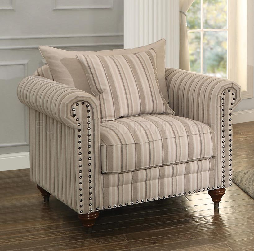 Hadleyville Sofa Striped by Homelegance