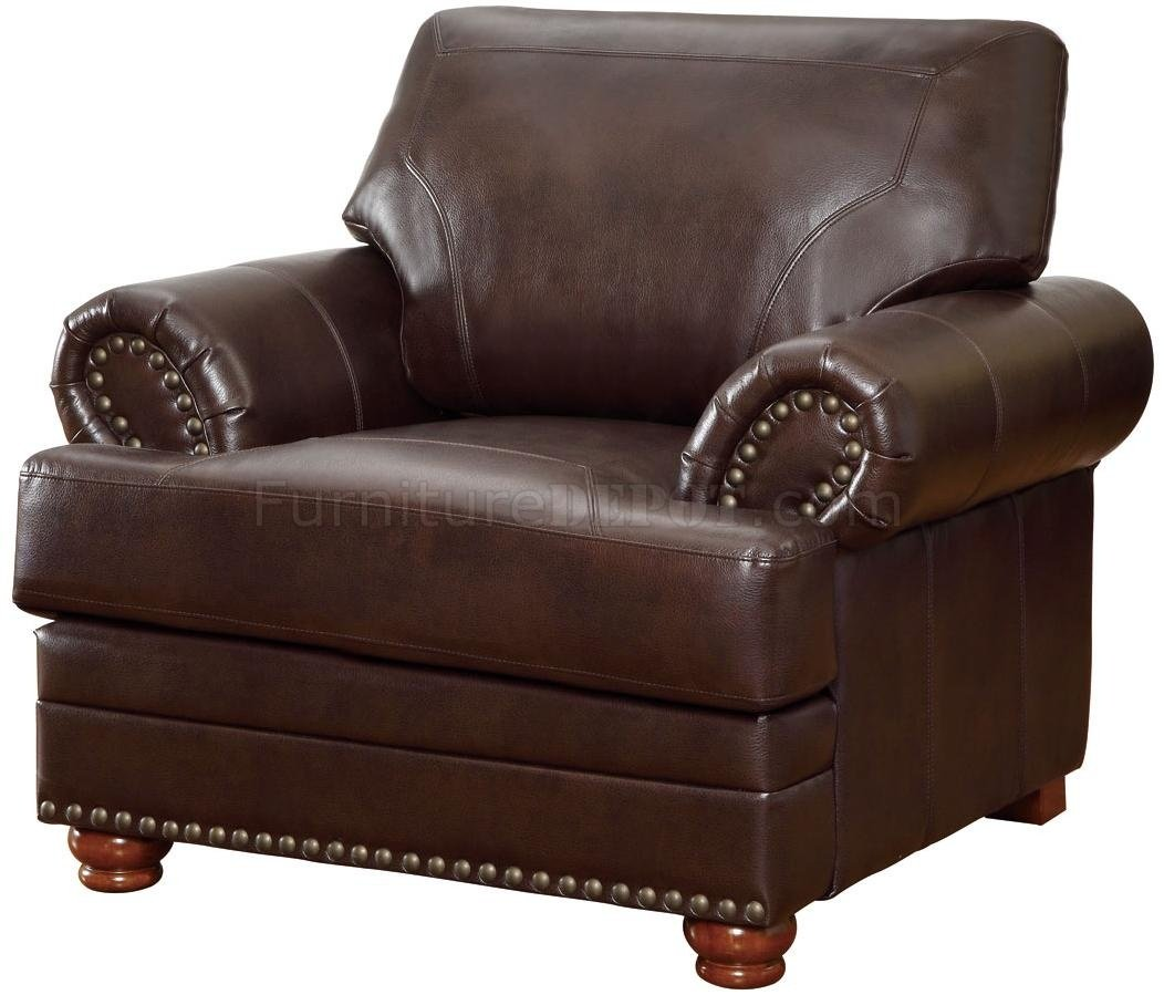 coaster leather sofa reviews pottery barn comfort colton 504411 in brown bonded by w