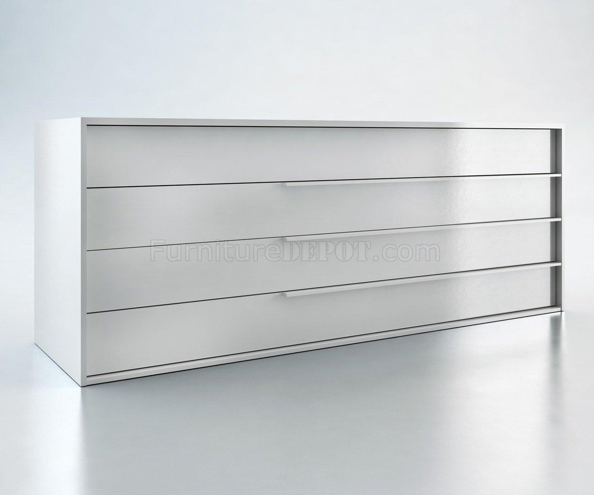 MD323 Jane Dresser by Modloft in White Laquer Finish