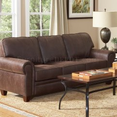 Bentley Leather Sofa Reviews Modern Red In Brown Microfiber 504201 By Coaster W Options