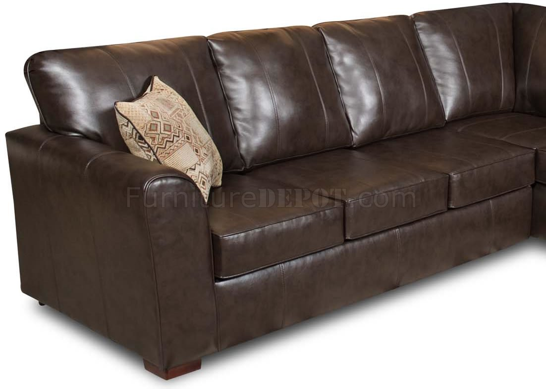 bentley leather sofa reviews build bed brown bonded modern sectional w options
