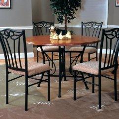 Panache Sofa Set Sears Sectional Canada Dark Pewter Metal Base Dinette W/oak Finish Top Table