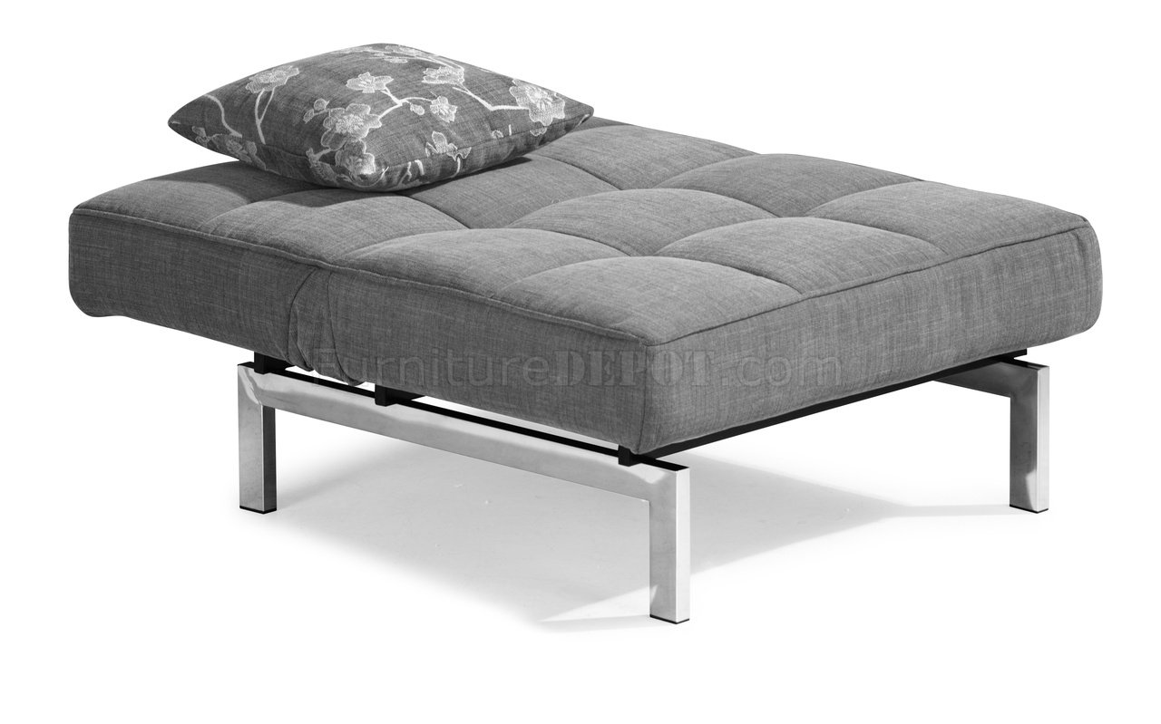 grey microfiber sleeper sofa poundex review gray convertible with split back