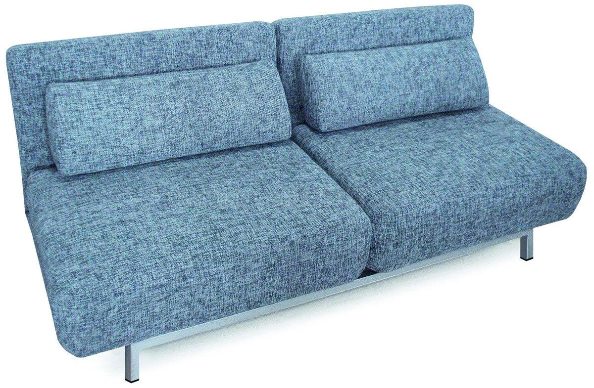 grey modern sofa bed maryland fabric convertible w metal legs