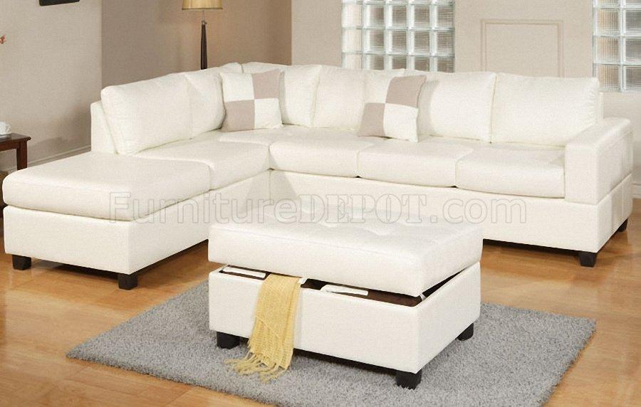f7354 modern sectional sofa in cream